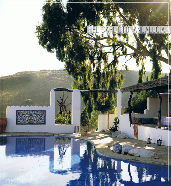 El Carligto Estates in Andalucia, Spain via www.myparadissi.com