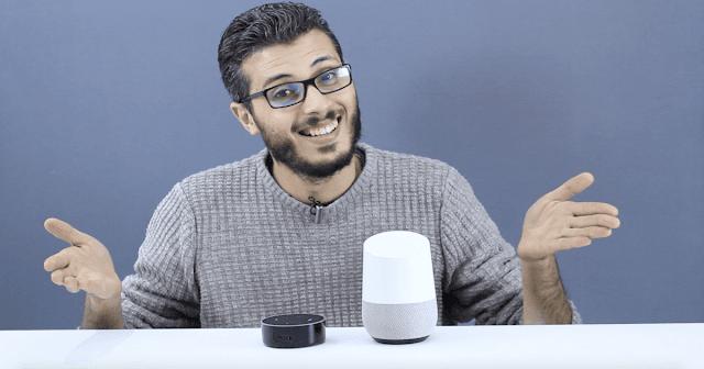 تجربتي مع الإخوة الاعداء  Google home و Alexa ولماذا قررت ان استعملهما معا !