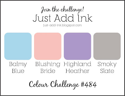 Jo's Stamping Spot - Just Add Ink Challenge #484