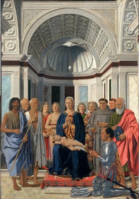 Pala di Brera o Sacra Conversazione Piero dellaFrancesca