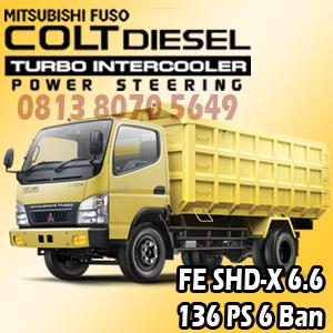 mitsubishi colt diesel canter FE SHD-X Gear 6.6