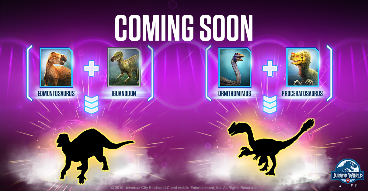 Welcome to Jurassic World: January 2019