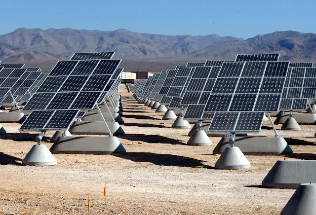Solar Panels Plants