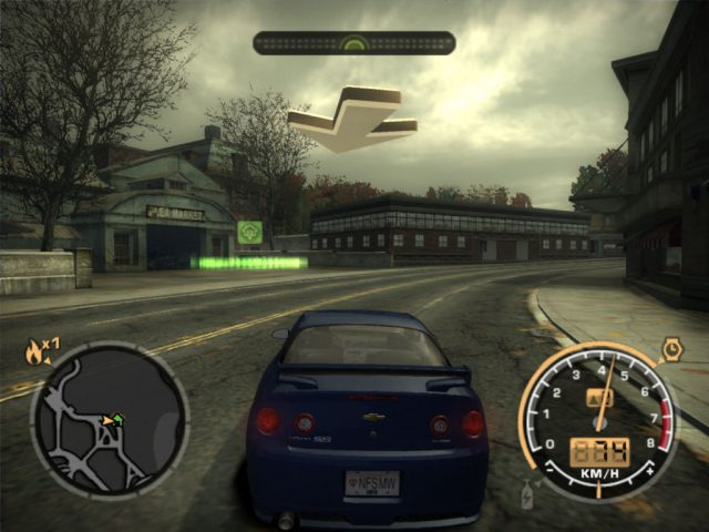 Need for speed most wanted mac 2005