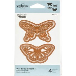 SHAPEABILITIES WANDERING BUTTERFLIES ETCHED DIES