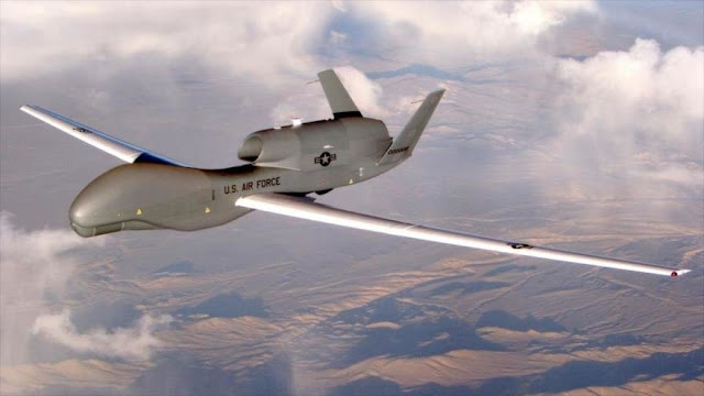 Rusia detecta dos drones espía de EEUU sobre sus fronteras