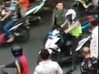 Video Oknum TNI Pukuli Helm Polisi Viral, Ini Penjelasannya