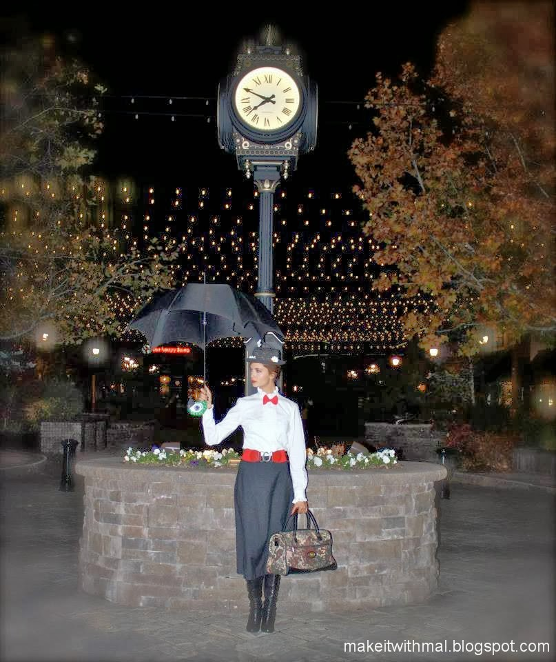 Mary Poppins Umbrella Diy