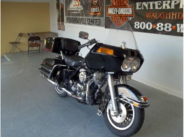 Harley Davidson FLT Tour Glide 1340cc Classic 1980