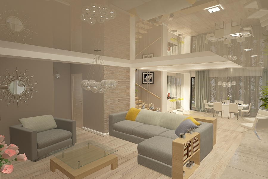 Design interior vila moderna la cheie Constanta