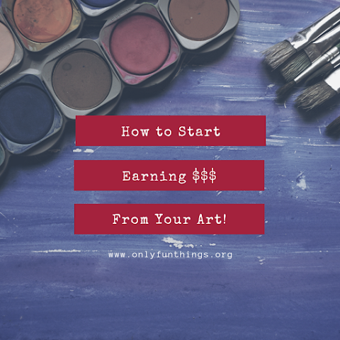 Make Money from Your Art? How to Start a Side Job as an Artist! – Royals Lesson!
