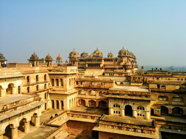 The stunning palaces inside Orchha Fort, Madhya Pradesh