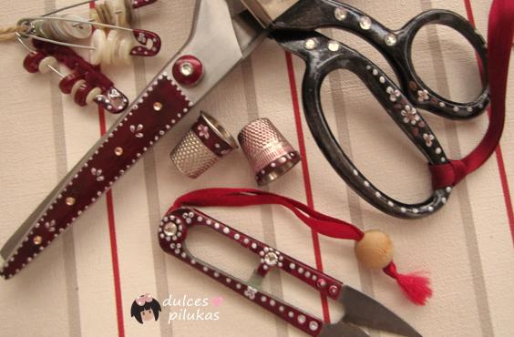 Decorar accesorios de costura