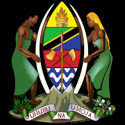 Coat of arms - Flags - Emblem - Logo Gambar Lambang, Simbol, Bendera Negara Tanzania