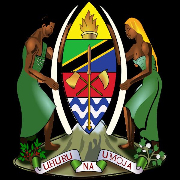 Logo Gambar Lambang Simbol Negara Tanzania PNG JPG ukuran 600 px