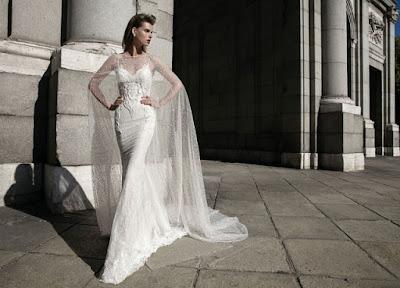 vestidos de novia sencillos con tul