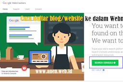 Cara daftar blog/website ke dalam Webmaster Tools ~ Tutorial Blog