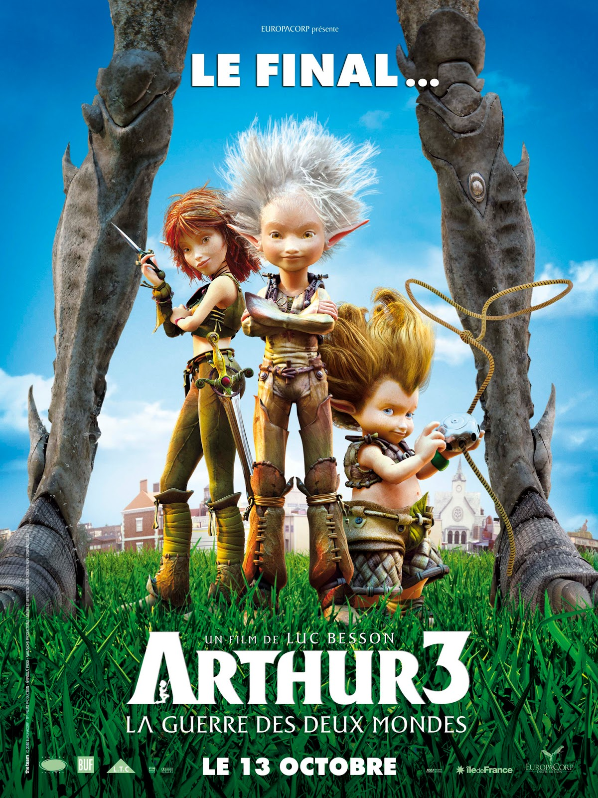Arthur 3 The War of the Two Worlds (2010) ταινιες online seires xrysoi greek subs