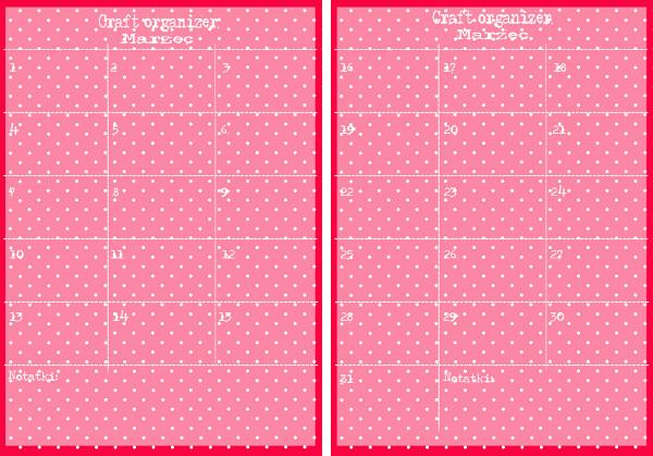 #037 Craft Organizer - Marzec