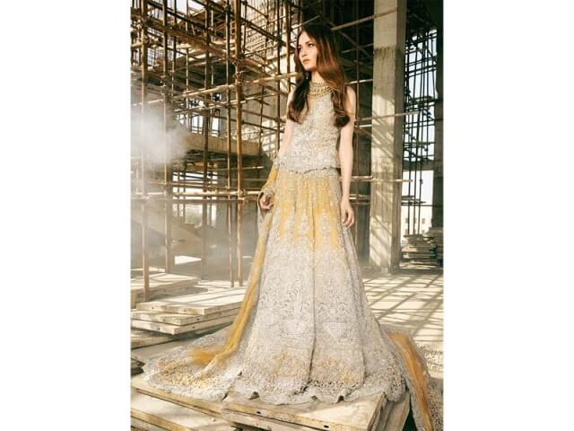 The Bridal Collection by Sana Safinaz  Sana Safinaz introduced a new collection for bridals namely Belle Epoque. Sana Safinaz is part of SS Fashions.   Belle Epoque Collection
