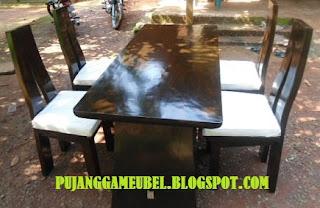 meja makan kursi A