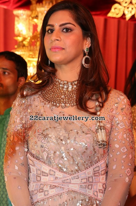 Upasana and Ramcharan at Anindith Reddy Wedding