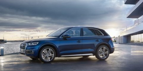 Audi Q5 Created for almost any landscape