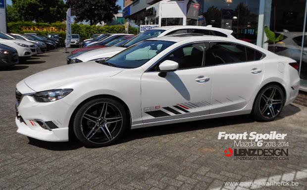 Mazda 6 Gj Atenza Lenzdesign Bodykit & Spoilers 2013 2014