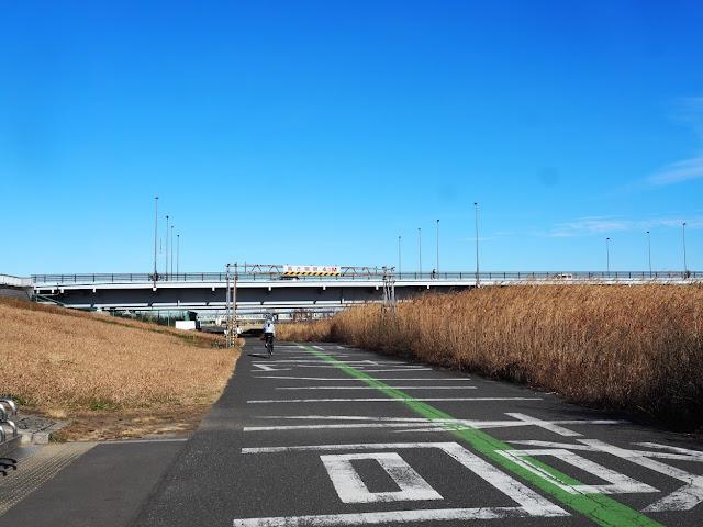 荒川自転車道 京葉道路