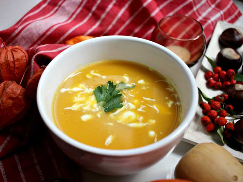 Ukusna supa od tikve za cijelu porodicu