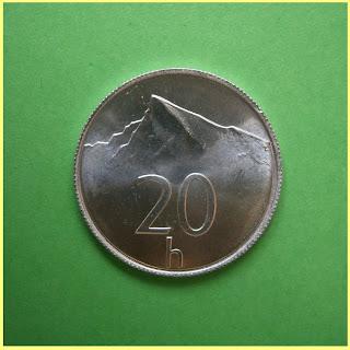 20 Hellers Corona Eslovaca