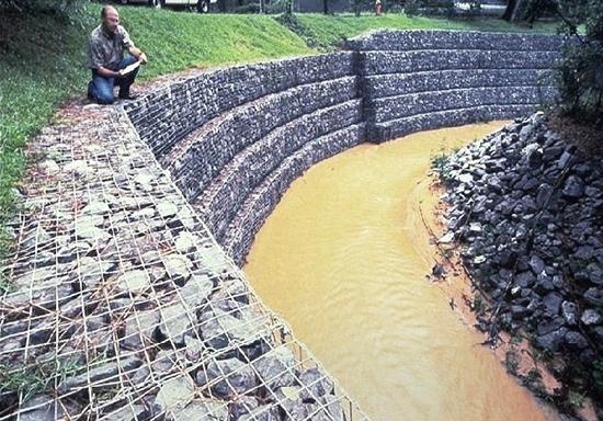 bronjong talud sungai