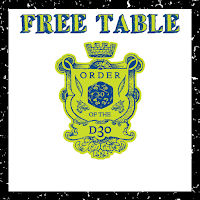 New Free/PWYW d30 Table is now Available!