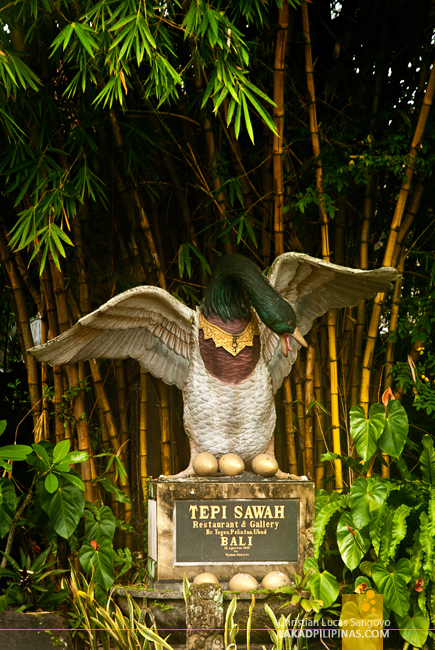 Bebek Tepi Sawah Villas Ubud Restaurant
