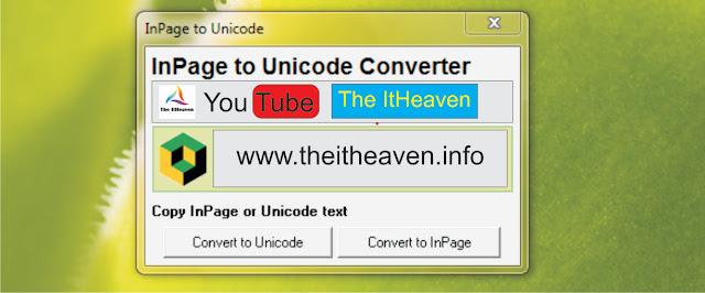 Urdu Unicode converter