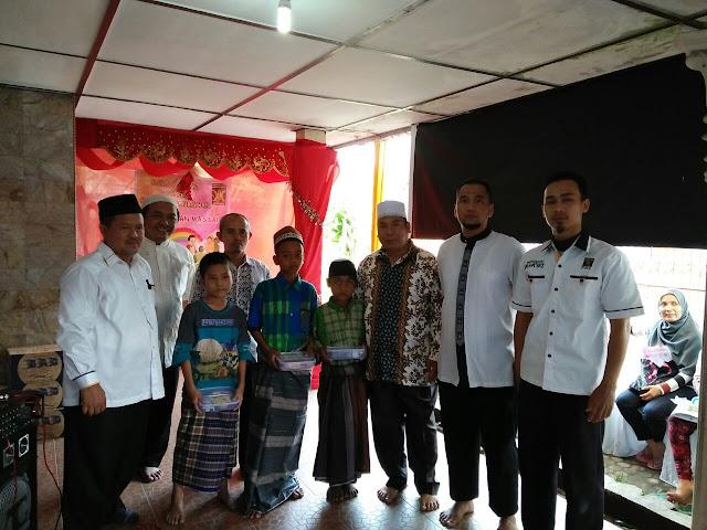 Masa Reses, Jumadi Bersama PKS Medan Perjuangan Gelar Khitan Massal dan Donor Darah