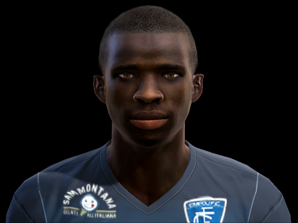 PES 2013 Hamed Traore face by pablobyk