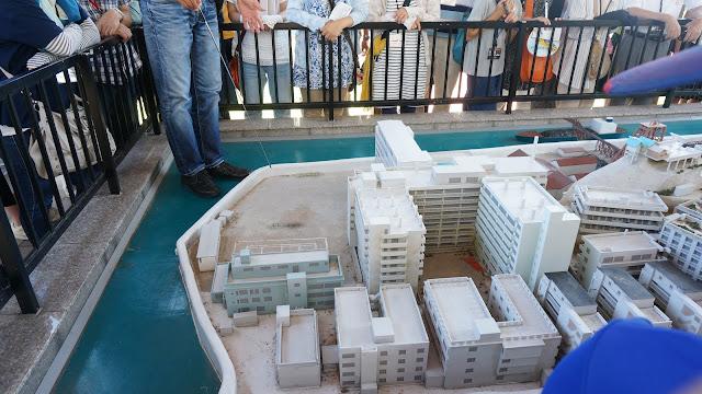 軍艦島模型