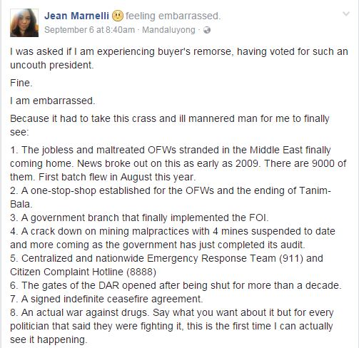 'Embarrassed' Supporter Posted Something Controversial About Duterte And This Will Surely Blow Your Minds!
