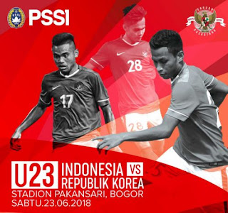 Jadwal Timnas Indonesia U23 vs Korea Selatan - Friendly Match