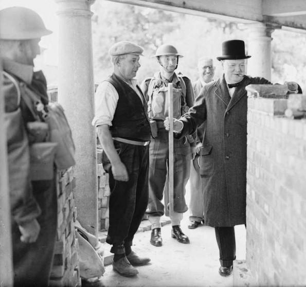 17 July 1940 worldwartwo.filminspector.com Churchill Poole England Canford Cliffs