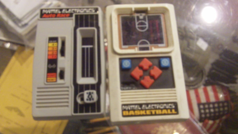 Junque Mattel Electronics Handheld Games From The 1970s