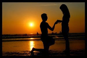 Pantai Kuta (Sunset Couple)