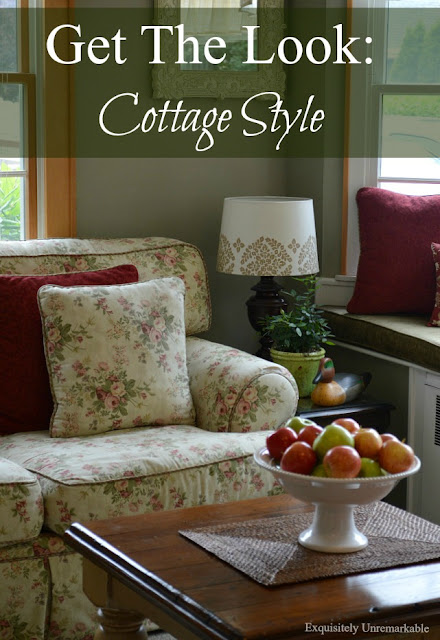 Get the look: Cottage Style Pinterest Pin