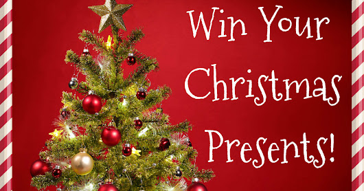 Win Your Christmas Presents with our Huge Giveaway!