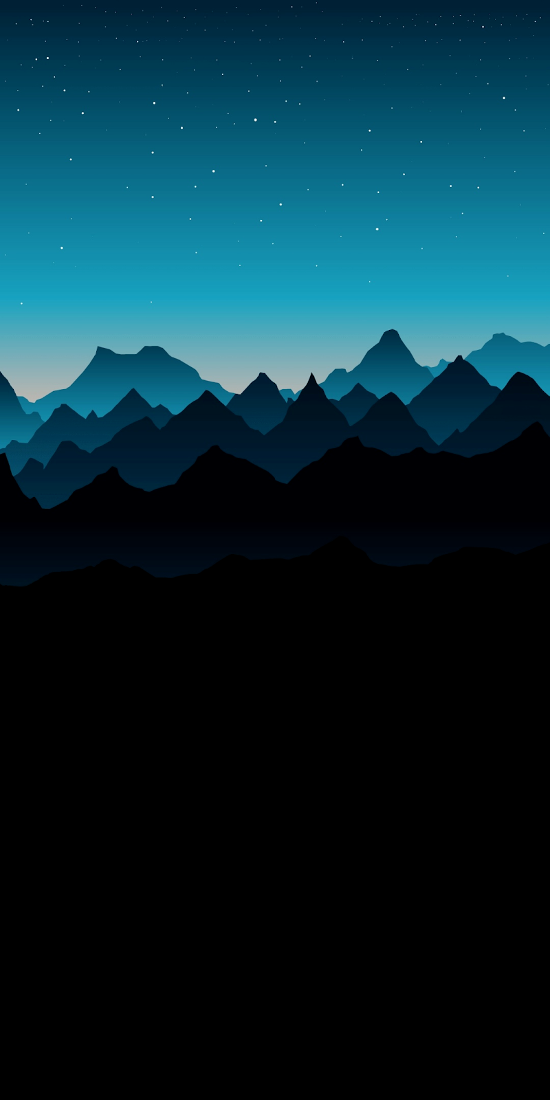 Blue mountain AMOLED