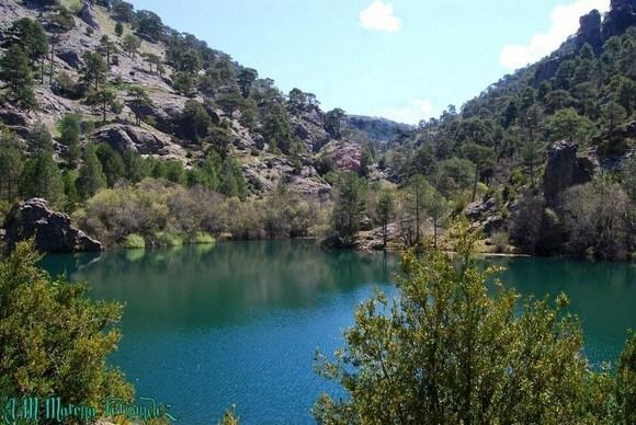 Laguna de Valdeazores, Nacimiento del río Borosa, Sierra de Cazorla, Andalucía