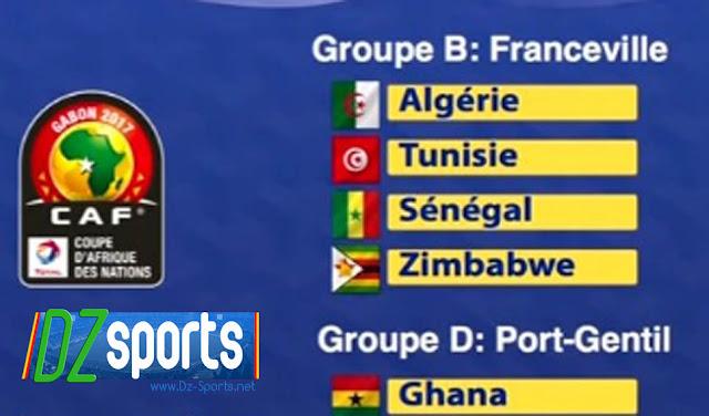 CAN 2017 : Le programme des matchs pour l'Algérie