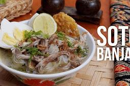 Resep Masakan Soto Banjar Enak Disajikan Hangat