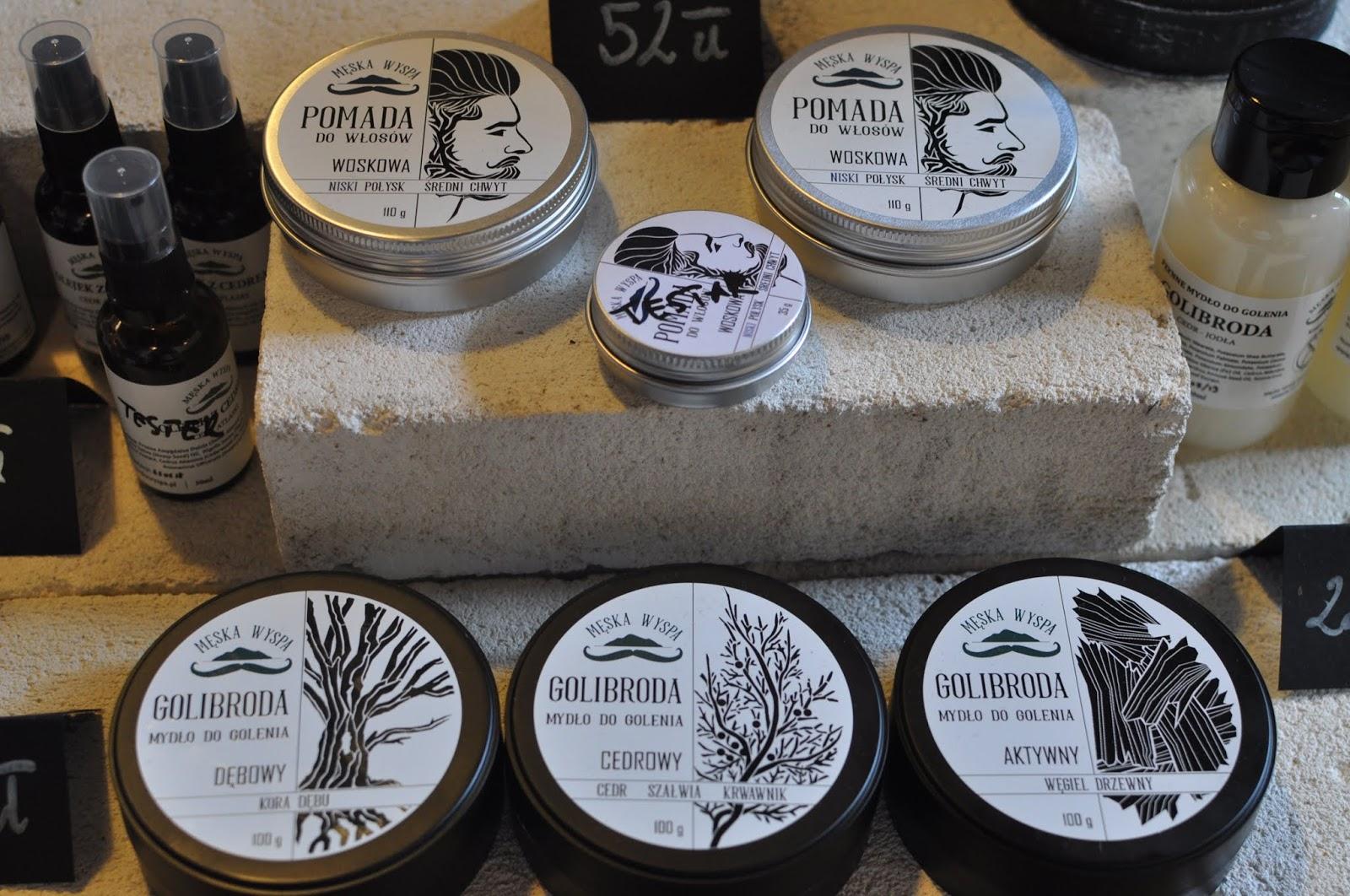 kosmetyki naturalne meska wyspa na ekotykach w krakowie